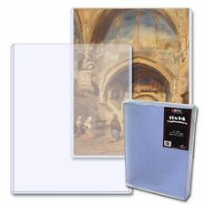 Pack (25) BCW 11x14 Art Print Lithograph Topload Holder (Top loader/toploader)