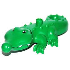 LEGO® Duplo Aligator Krokodil Tier Zoo Crocodile NEU