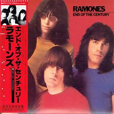 CD - RAMONES - End of the century - Japon