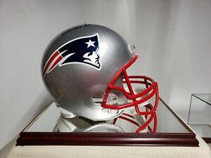 Neew England Patriots Fullsize Helmet Autographed By Ben Coats
