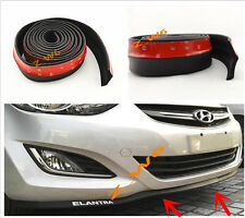 "2""x98"" BUMPER LIP SPLITTER BODY SPOILER VALENCE CHIN KIT Fit For: honda Toyota"
