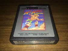 MAT MANIA CHALLENGE - ATARI 7800 GAME - WORKING - PAL