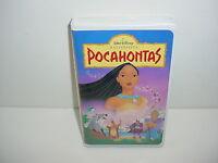 Pocahontas Masterpiece Walt Disney VHS Video Tape Movie Clamshell