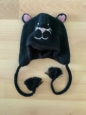 D&Y KIDS KNIT MOUSE BLACK BEANIE ANIMAL WINTER HAT ONE SIZE CRITTER KINGDOM