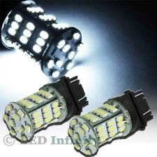 2x 3157 3156 Bright White 54-SMD LED Bulbs for Parking, Backup, DRL Lights 56