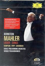 Leonard Bernstein Mahler DVD NEW Lieder Songs Israel Vienna Philharmonic