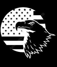 American flag with Eagle Merica Freedom Vinyl Decal Sticker Car Truck Window