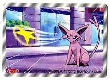 POKEMON TV TOKYO JR KIKAKU 1997 RV 3D N° 196 ESPEON MENTALI