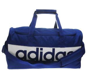 Adidas Linear Team Bag Sports Bag Fitness Bag Travel Bag Blue Size S NEW