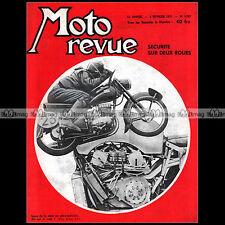 MOTO REVUE N°1327 ARIEL 500 TWIN FISCHER BMW ZUNDAPP DKW 250 SIDE-CAR ATE 1957