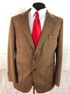 Farah Men's Brown Blazer 42R $225