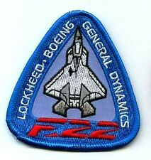Lockheed Martin/Boeing F-22 Raptor Twin-Engine Fifth-Generation Fighter Patch S