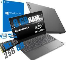"NOTEBOOK LENOVO DISPLAY 15,6"" HD CELERON N4000 8GB DDR4 SSD M2 256GB WIN 10 PRO"