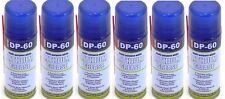 6 x DP-60 White Lithium Grease Maintenance Spray DP60 Synthetic Lubricant 200ml.