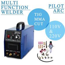 Pilot ARC Plasma Cutter / MMA / TIG Welder - 3  in 1 Economical machine CT312P