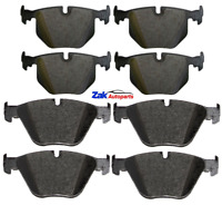 FOR BMW 730D (2003-2008) E65 FRONT & REAR BRAKE PADS SET NEW