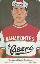 SANTIAGO GARCIA RODRIGUEZ Cyclisme ciclismo LA CASERA BAHAMONTES 70s Cycling