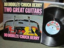 Bo Diddley / Chuck Berry Two Great Guitars LP '64 Checker lp2991 Mono rare vinyl