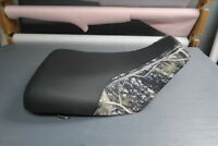 Honda Foreman TRX450ES 2000-03 Black Top Camo ATV Seat Cover #nw555mik554