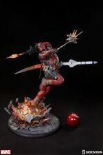 Sideshow Collectibles Deadpool Heat Seeker Premium Format Exclusive Sealed NIB
