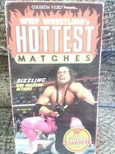 WWF Hottest Matches Rare & OOP Wrestling Original Coliseum Video Release VHS
