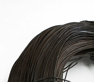 12kg Black Annealed 17g (1.4mm) Steel Tying Wire