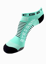 Steigen Mint Green Zero Length Performance Running and Cycling Socks