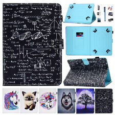For 10 Inch Tablet PC Universal Kids Shockproof Flip PU Leather Case Cover Stand