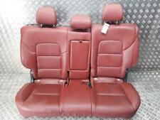 Hyundai Tucson TL 2015 On Heated Red Leather Rear Seats Assembly+WARRANTY