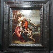 Otto Van Veen (Flanders 1556-1629) Flight into Egypt 16th c Old Master Painting