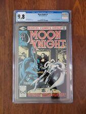 Marvel Moon Knight 3 CGC 9.8 White Pgs 1st App Midnight Man Sienkiewicz 1981