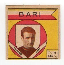 figurina CALCIATORI VAV 1960 numero 2/145 BARI ROMANO