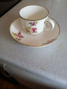 Antique Possibly Sevres Cup And Saucer