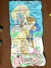 """90'S Disney Beauty & the Beast Childrens Sleeping Bag 53"""" x 28"""" Belle Vintage"""