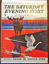 Saturday Evening Post March 23, 1935 Jacob Batts Abbott Classic Cover Magazine