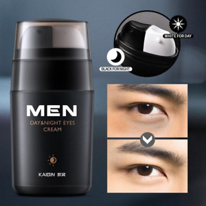 Men's EYE CREAM Day and Night Anti-Wrinkle Firming Puffiness Remove Dark Circles