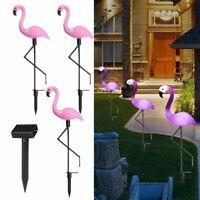 Flamingo Gartenfigur Deko mit Erdspieß 62,5 cm Garten Terrasse Balkon Dekoration