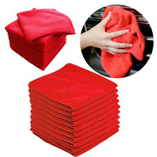 10pcs Microfiber Washing Car Body Care Cleaning Towel Soft Cloth Accessories