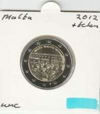 Malta 2 euro 2012 UNC : Representation (plus muntteken)