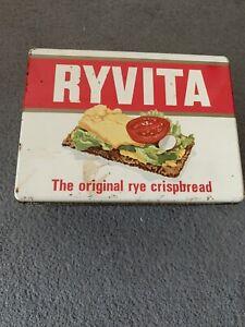 Vintage Ryvita Tin