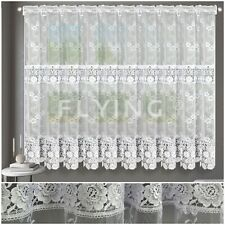 Curtain Ready Made To Hang Voile Guipure Firany firanki