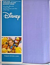 ~ Disney - CONCEALED TAB TOP BLOCKOUT CURTAINS (LILAC)