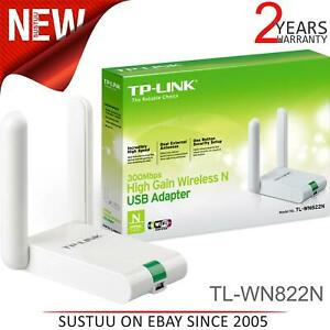 TP-Link TL-WN822N 300Mbps High Gain Wireless USB Adapter│11N Speed│300Mbps│White