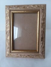 """Small Dark Brown Wood Picture Frame 3 1/2"""" x 5 1/2"""""""