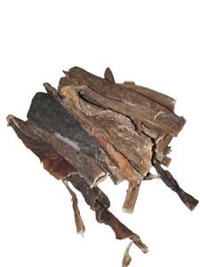 Rinderpansen Kauartikel für Hunde getrocknete Snacks Leckerlies (15,75 / 1kg)
