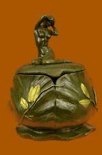 Nude Nouveau Art Handcrafted Bronze Sculpture SALE Signed Jugendstil French