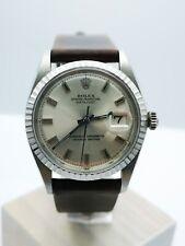 Rolex Datejust 36 Automatik Stahl Herrenuhr Oyster Perpetual Ref 1603