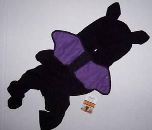 NWT Martha Stewart Pets Winged Bat Dog Costume Large Halloween