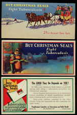 1931-1948 US Christmas Seals Package Insert Collection