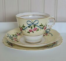 More details for pretty vintage bone china tea trio by colclough baby shower gift - free p&p inc